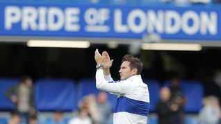 Pertarungan Lampard-Guardiola di Laga Man City vs Chelsea