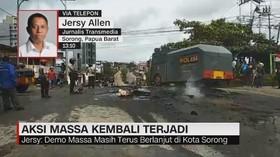 VIDEO: Aksi Massa Kembali Terjadi di Sorong Papua