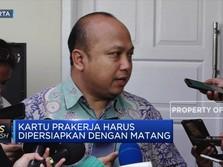 INDEF: Kartu Prakerja Jokowi Bisa Sia-Sia