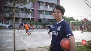Hillary dan Cerita Futsal Anak Rusun Marunda