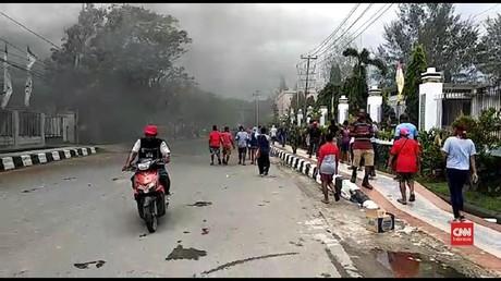 VIDEO: Situasi Panas di Kota Sorong