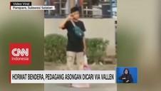 VIDEO: Hormat Bendera, Pedagang Asongan Dicari Via Vallen