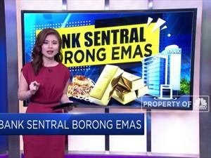 Bank Sentral Ramai - Ramai Borong Emas