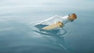 Surat Dalam Botol Berumur 50 Tahun Milik Pelaut Ditemukan