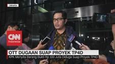 VIDEO: OTT Jaksa oleh KPK Terkait Dugaan Suap Proyek TP4D