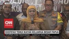 VIDEO: Khofifah Temui Ikatan Keluarga Besar Papua