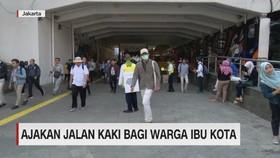VIDEO: Ajakan Jalan Kaki Bagi Warga Ibu Kota