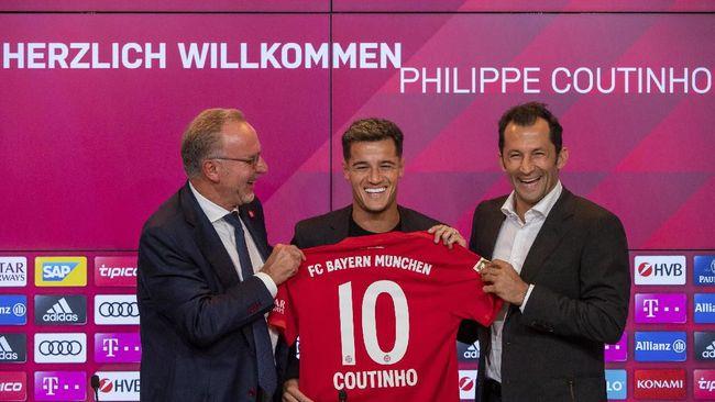 Sebelum Gabung Munchen, Coutinho Memohon Kembali ke Liverpool