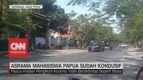 VIDEO: Asrama Mahasiswa Papua Sudah Kondusif