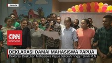 VIDEO: Deklarasi Damai Mahasiswa Papua