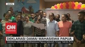 VIDEO: Deklarasi Damai Mahasiswa Papua