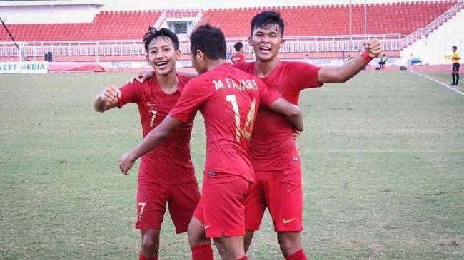 Hasil Indonesia U-19 vs Iran: Zico Cetak Gol Kemenangan