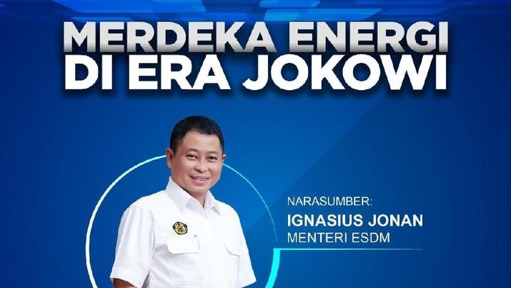 Menteri Energi dan Sumber Daya Mineral Ignasius Jonan buka-bukaan soal kondisi energi RI, apakah sudah daulat atau masih terbelenggu defisit di era Jokowi?