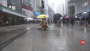 VIDEO: Pemimpin Hong Kong Harap Aksi Damai Bawa Ketenangan