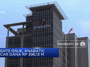 Rights Issue, Anabatic Incar Dana Rp 396,13 M