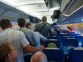 Cara Turun Pesawat yang Patut Ditiru