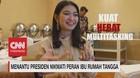 VIDEO: Menantu Presiden Nikmati Peran Ibu Rumah Tangga