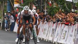 Hasil Etape 2 Tour d'Indonesia 2019: Jeroen Meijers Tercepat
