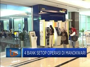 4 Bank Setop Operasi di Manokwari