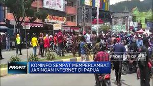 Kominfo Sempat Lakukan Perlambatan Internet di Papua
