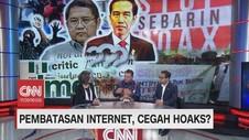 VIDEO: Pembatasan Internet, Cegah Hoaks?