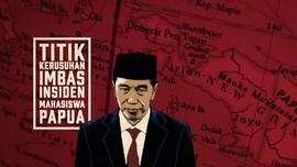 INFOGRAFIS: Titik Rusuh Papua, dari Malang ke Sorong