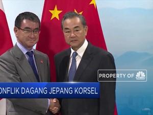 Ketegangan Mereda, Jepang-Korsel Bertemu di Beijing