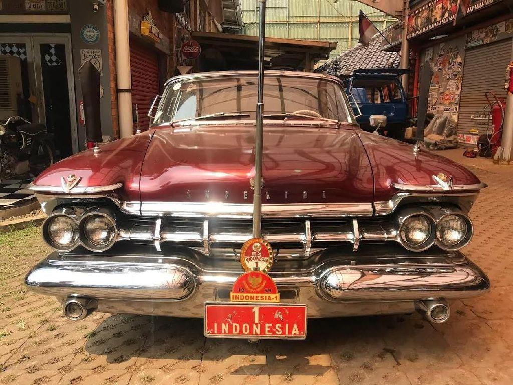 Mobil Dinas Sukarno yang Pernah Ditawar Pakai Cek Kosong