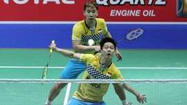Marcus/Kevin Jumpa Ahsan/Hendra di Final China Open 2019