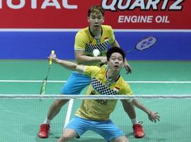 Kevin/Marcus Lolos ke Perempat Final Hong Kong Open 2019