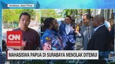 VIDEO: Mahasiswa Papua di Surabaya Menolak Ditemui
