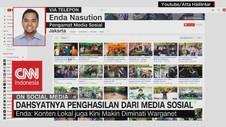 VIDEO: Dahsyatnya Penghasilan Dari Media Sosial
