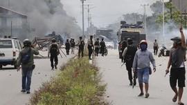 Polisi Tetapkan 34 Tersangka Kerusuhan Mimika, 13 Diduga KNPB