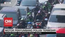 VIDEO: Motor Penyumbang Polusi Terbesar