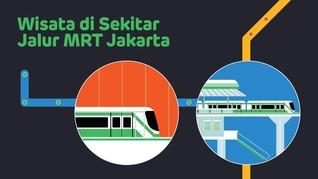 INFOGRAFIS: Wisata di Sekitar Jalur MRT Jakarta
