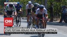 VIDEO: Etape Pertama Menjadi Milik Pembalap Australia