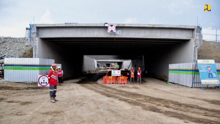 Pembangunan underpass New Yogyakarta International Airport (NYIA) atau Bandara Kulonprogo (dok. PUPR)