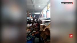 VIDEO: Kerusuhan di Fakfak, Pasar Dibakar Massa