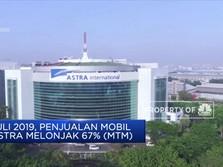Penjualan Mobil Astra Melonjak 67%