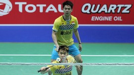Kevin/Marcus vs Fajar/Rian di Semifinal China Open
