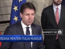 Dihadang Mosi Tidak Percaya, PM Italia Mundur