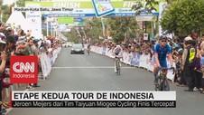 VIDEO: Etape Kedua Tour De Indonesia