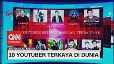 VIDEO: Ini Dia 10 Youtuber Terkaya di Dunia