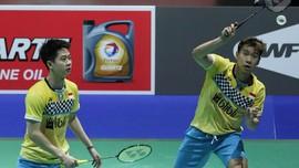 Marcus/Kevin Tak Terganggu Suporter Lawan di Fuzhou Open 2019
