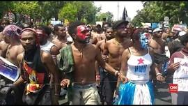 VIDEO: Bintang Kejora dalam Demo Papua di Depan Istana