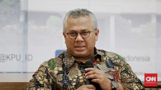 KPU Bersurat ke Jokowi soal Pengunduran Diri Wahyu Setiawan