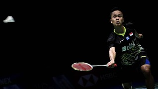 Hong Kong Open: Serangan Balik Kunci Ginting Tekuk Jonatan