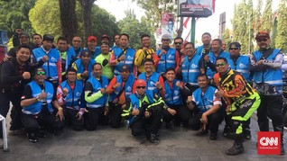 Cerita Unik marshal Tour d'Indonesia 2019