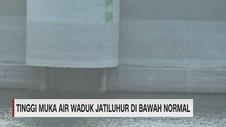 VIDEO: Tinggi Muka Air Waduk Jatiluhur di Bawah Normal