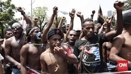 Massa Papua Bubar, Bertekad Unjuk Rasa Lagi Pekan Depan